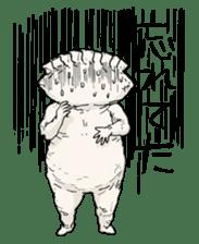 GYOZA-MAN sticker #4790466