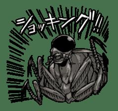 GYOZA-MAN sticker #4790492
