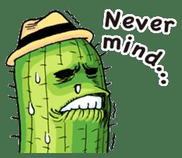 Mr.Cactus(English Version) sticker #4790551