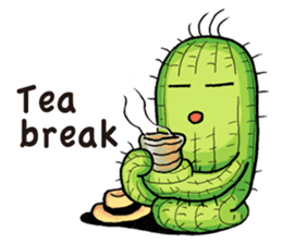 Mr.Cactus(English Version) sticker #4790552
