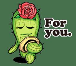 Mr.Cactus(English Version) sticker #4790553