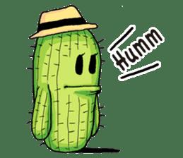 Mr.Cactus(English Version) sticker #4790556
