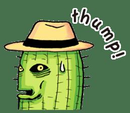 Mr.Cactus(English Version) sticker #4790560