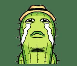 Mr.Cactus(English Version) sticker #4790562