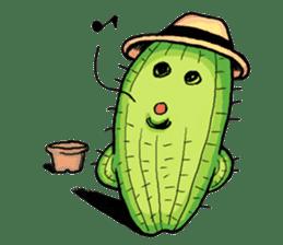 Mr.Cactus(English Version) sticker #4790567