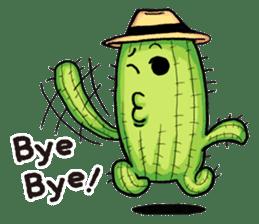 Mr.Cactus(English Version) sticker #4790571