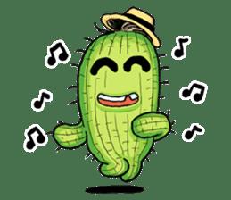 Mr.Cactus(English Version) sticker #4790573