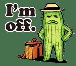 Mr.Cactus(English Version) sticker #4790575