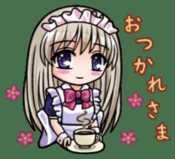 Japanese MOE maid sticker #4791060