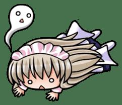 Japanese MOE maid sticker #4791066