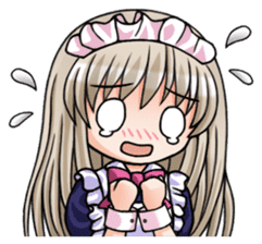 Japanese MOE maid sticker #4791070
