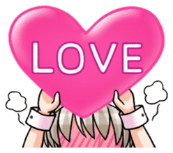 Japanese MOE maid sticker #4791073
