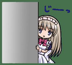 Japanese MOE maid sticker #4791076