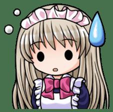 Japanese MOE maid sticker #4791078