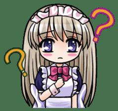 Japanese MOE maid sticker #4791080