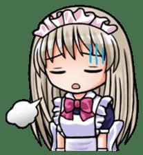Japanese MOE maid sticker #4791090