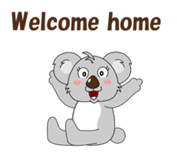 Conversation with koala English sticker #4791741