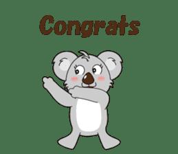 Conversation with koala English sticker #4791748