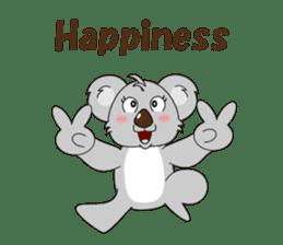 Conversation with koala English sticker #4791759