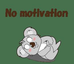 Conversation with koala English sticker #4791770