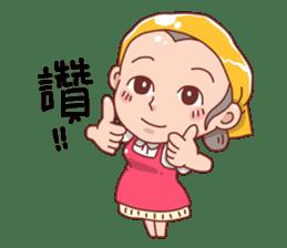 taiwan Mother 01 sticker #4792537