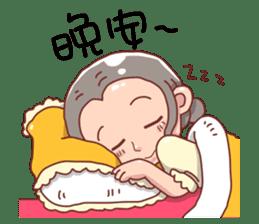 taiwan Mother 01 sticker #4792575