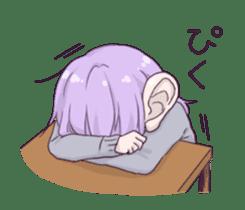 I love Ofuton! Nemumi-chan sticker #4793234