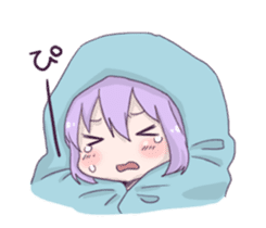I love Ofuton! Nemumi-chan sticker #4793236