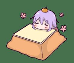I love Ofuton! Nemumi-chan sticker #4793251