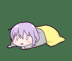 I love Ofuton! Nemumi-chan sticker #4793252