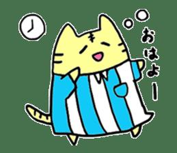 Close dog and cat sticker #4793856