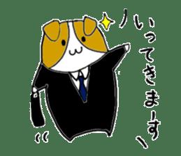 Close dog and cat sticker #4793857