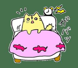 Close dog and cat sticker #4793859