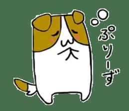 Close dog and cat sticker #4793869