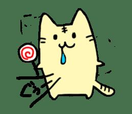 Close dog and cat sticker #4793883