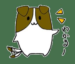 Close dog and cat sticker #4793888