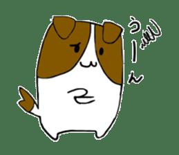 Close dog and cat sticker #4793894