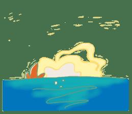 Little Mermaid Sun sticker #4796960