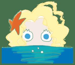 Little Mermaid Sun sticker #4796961