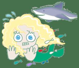 Little Mermaid Sun sticker #4796969