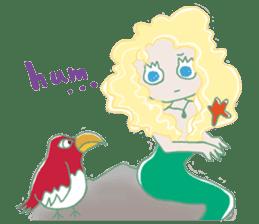 Little Mermaid Sun sticker #4796970