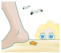 Little Mermaid Sun sticker #4796972