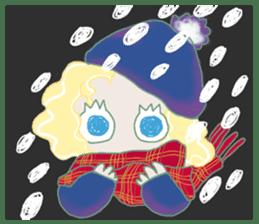 Little Mermaid Sun sticker #4796975
