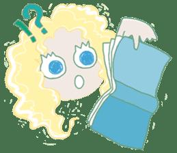 Little Mermaid Sun sticker #4796982