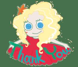 Little Mermaid Sun sticker #4796986