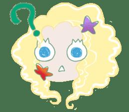 Little Mermaid Sun sticker #4796988