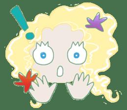 Little Mermaid Sun sticker #4796989