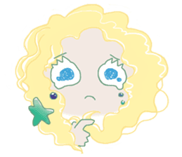 Little Mermaid Sun sticker #4796991
