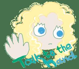 Little Mermaid Sun sticker #4796998