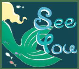 Little Mermaid Sun sticker #4796999